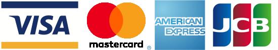Mastercard,VISA,American Express,JCB|ペイパル